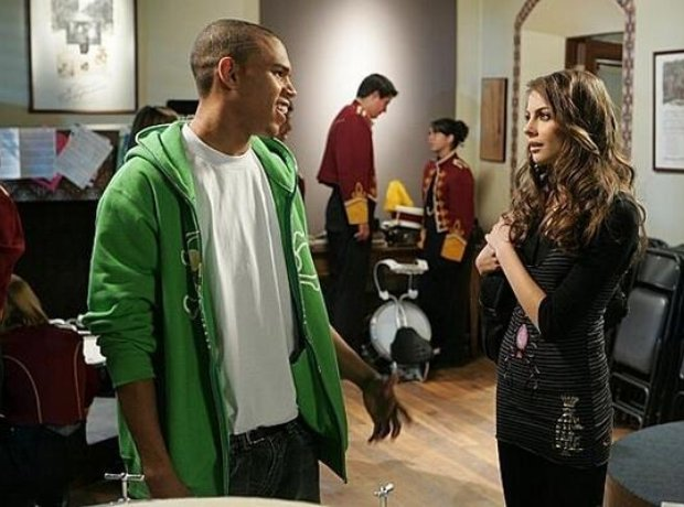 Chris Brown on the OC