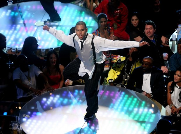 Chris Brown VMAs 2007