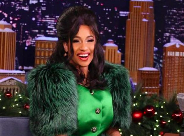 Cardi B on Jimmy Fallon