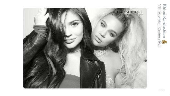 Kylie Jenner Khloe Kardashian Snapchat