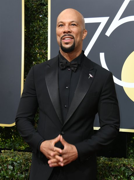 Golden Globes Common 2018