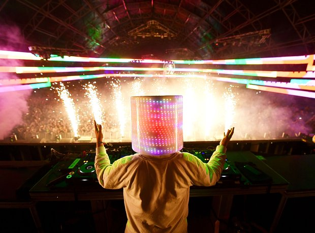 Marshmello at Coachella