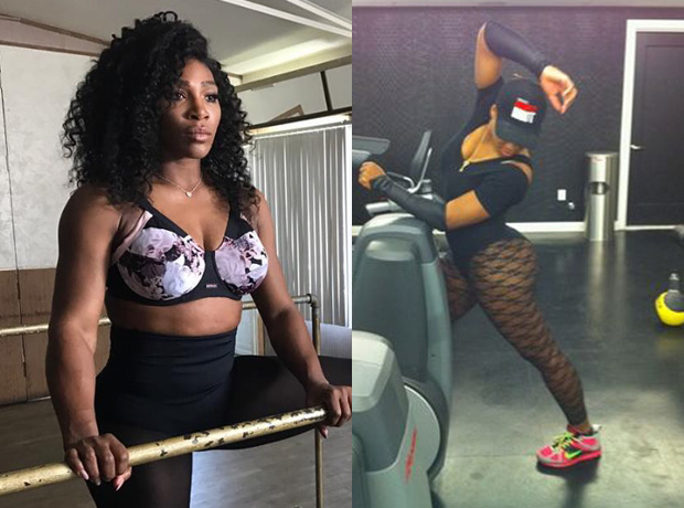 Serena Williams fitness