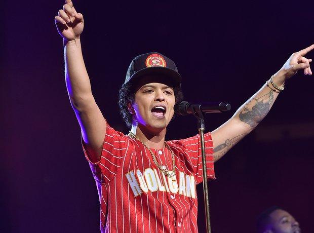 Bruno Mars performs onstage