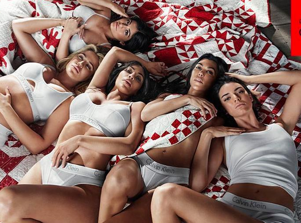 Kardashians 'My Calvins' campaign