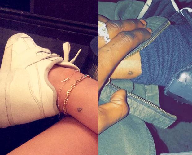 Kylie Jenner Travis Scott matching tattoos