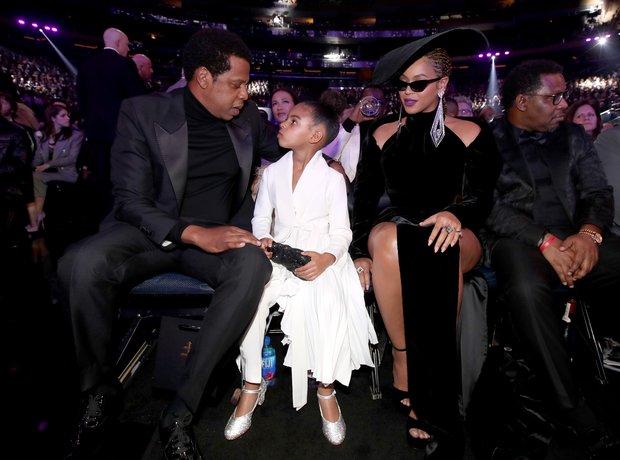 Beyonce Jay Z Blue Ivy Grammy Awards 2018