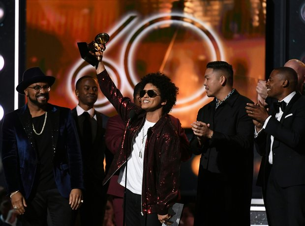 Bruno Mars Grammy Awards 2018