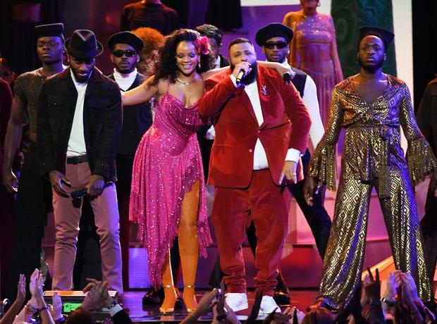 Bryson Tiller, Rihanna and DJ Khaled Grammy Awards
