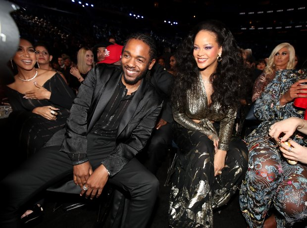 Kendrick Lamar and Rihanna Grammy Awards 2018