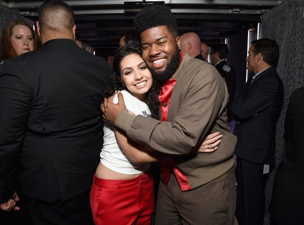 Khalid and Alessia Cara at The Grammy Awards 2018