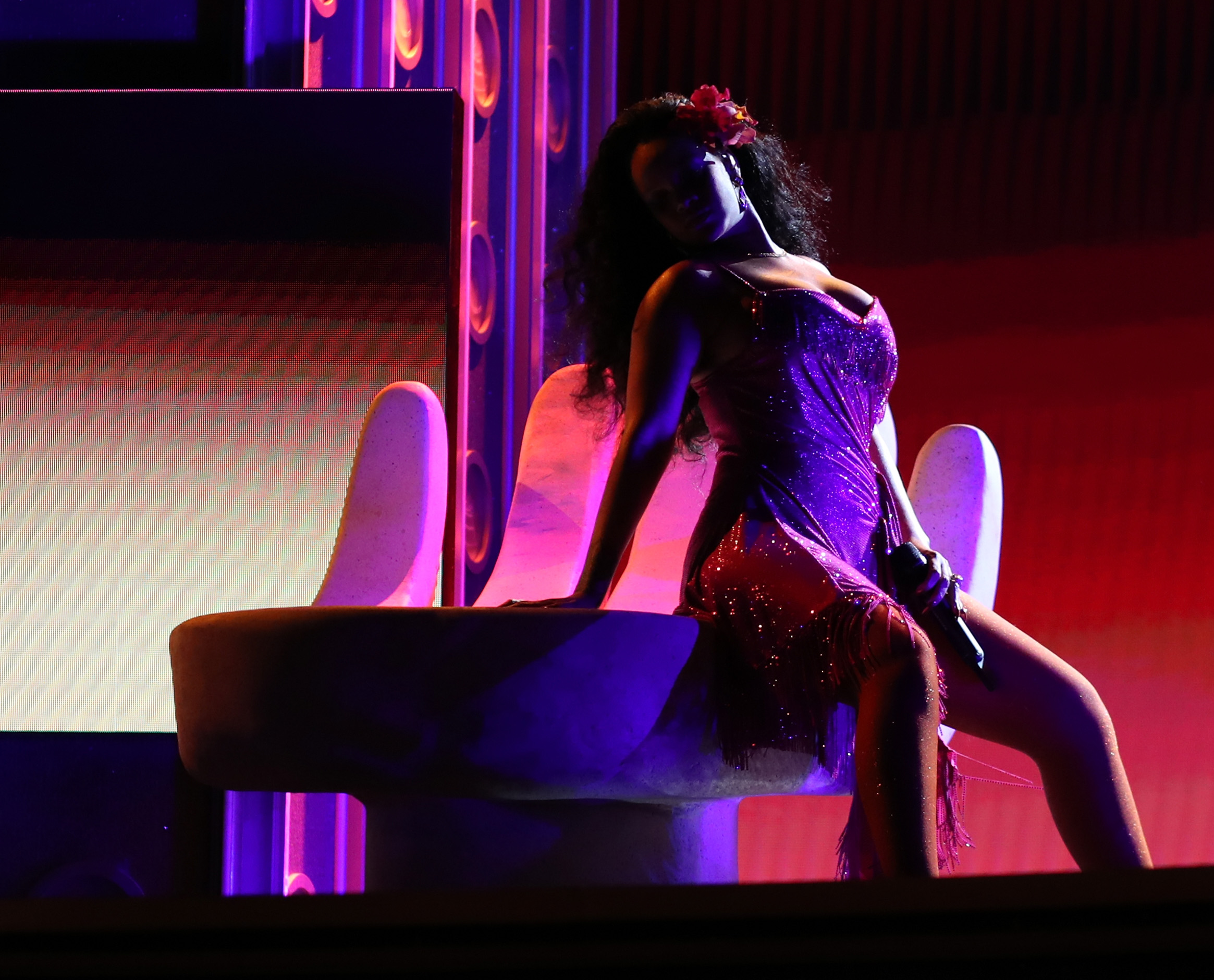 Rihanna Grammys Wild Thoughts