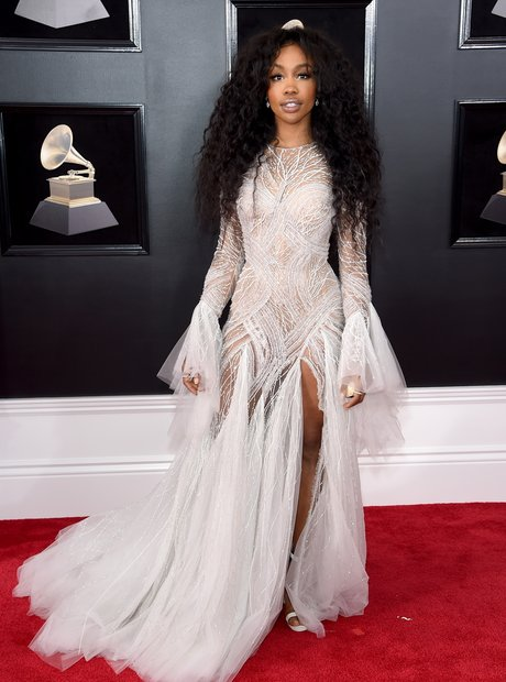 SZA at the Grammys 2018