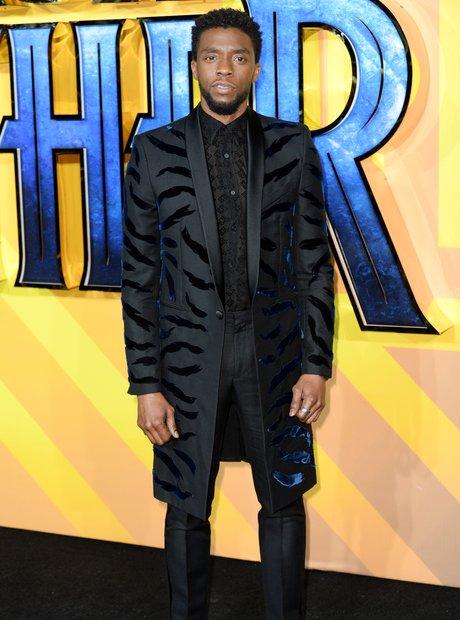 Black Panther European Premiere - Chadwick Boseman