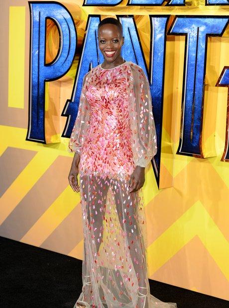 Black Panther European Premiere - Florence Kasumba