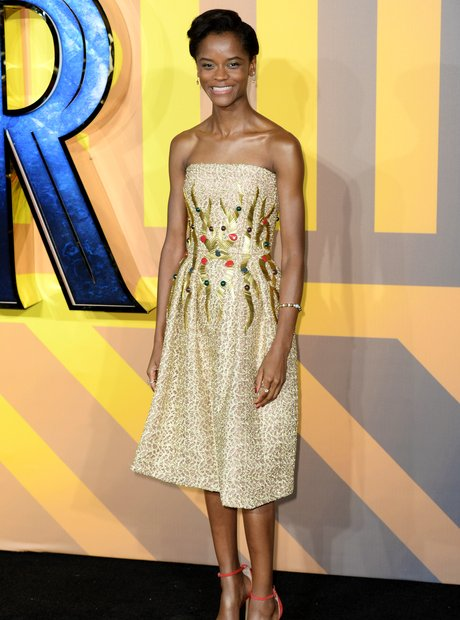 Black Panther European Premiere - Letitia Wright