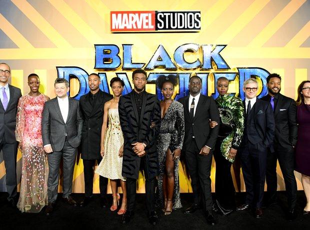 Black Panther European PremiereBlack Panther Europ
