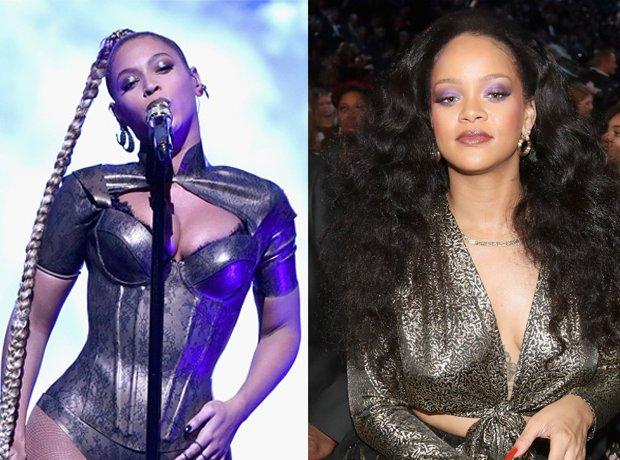 Beyonce Rihanna