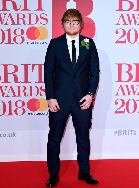 Ed Sheeran Brit Awards 2018