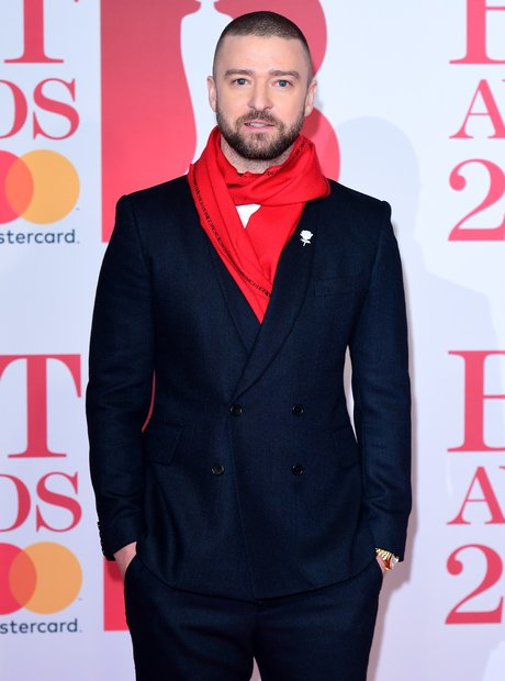 Justin Timberlake BRIT Awards 2018
