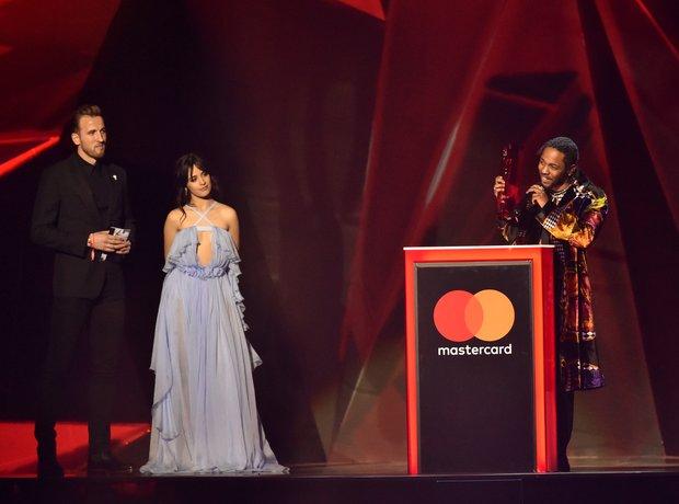 Kendrick Lamar Best International Male BRIT Awards