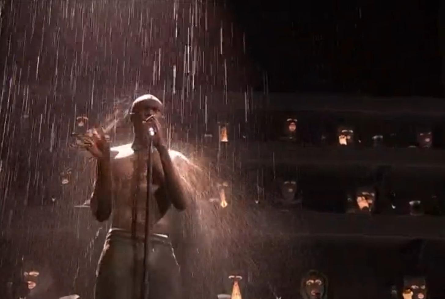 Stormzy BRITs Performance