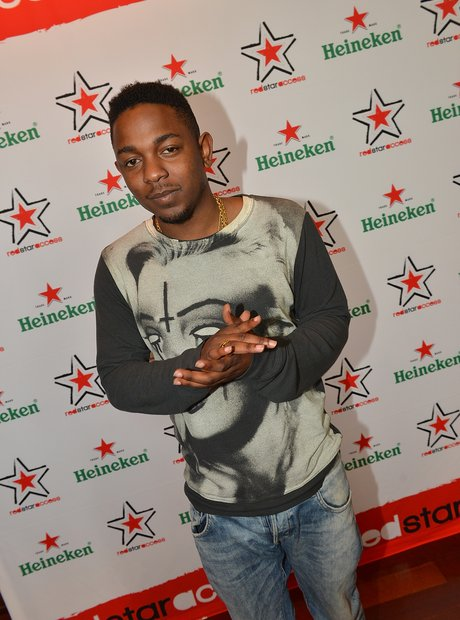 Kendrick Lamar Heineken Red Star Access 2012