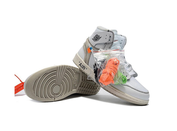 sports shoes 56e05 91d2b Virgil Abloh Off White Air Jordan 1 'White': What They Cost ...