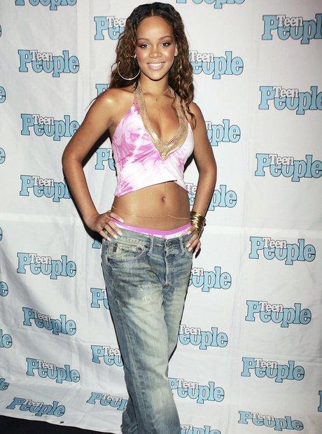 Rihanna at Teen Listening Lounge