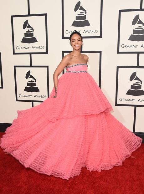 Rihanna attends The 57th Annual GRAMMY Awards