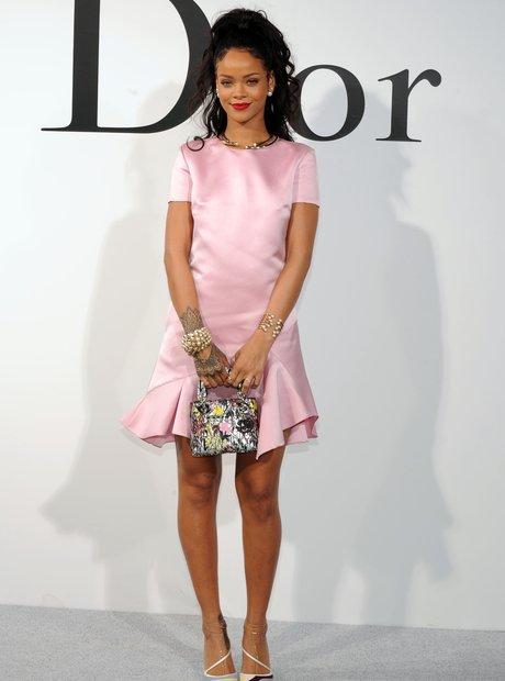 Rihanna Dior show