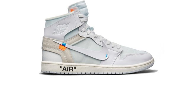 info for 743a3 06f3f Virgin Abloh Off White Air Jordan 1