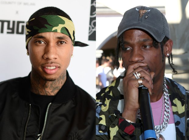 Tyga vs. Travis Scott