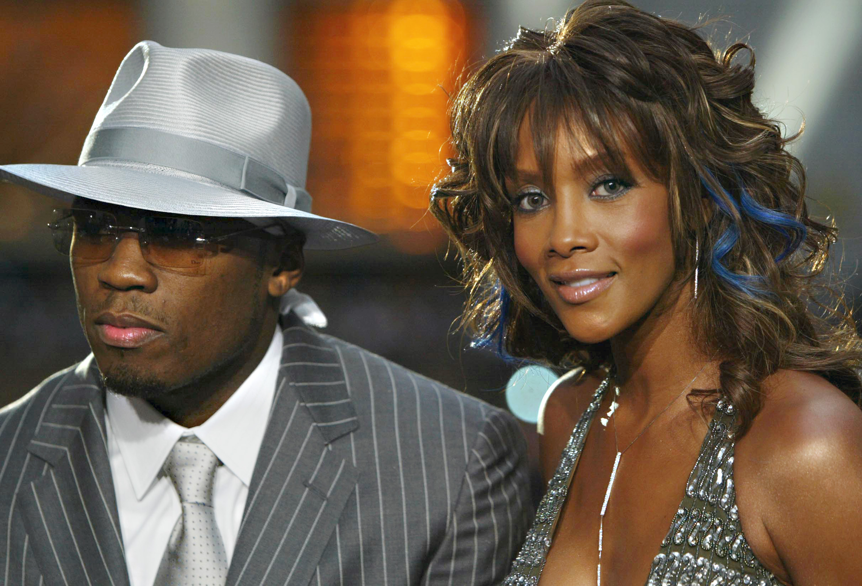 50 Cent and Vivica A. Fox