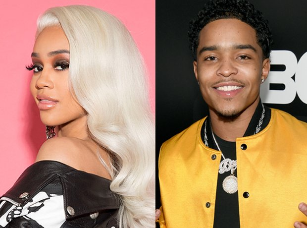 Saweetie and Justin Combs