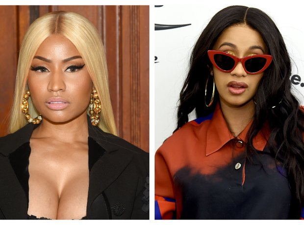Cardi B and Nicki Minaj