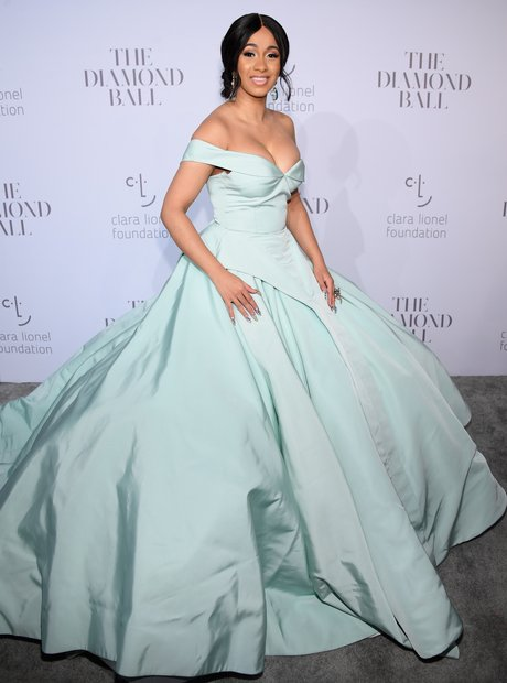 Cardi B at Rihanna's 3rd Annual Diamond Ball