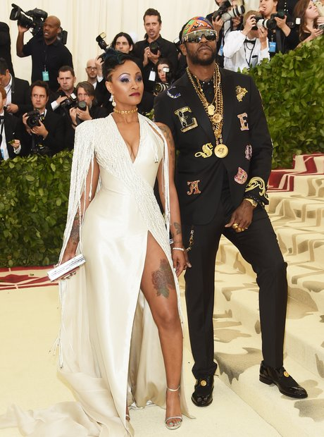 2 Chainz and his fiancé