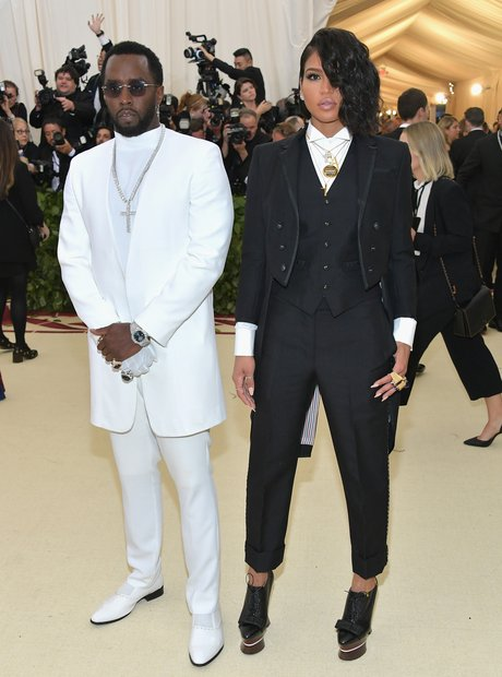 Sean 'Diddy' Combs and Cassie Met Gala 2018