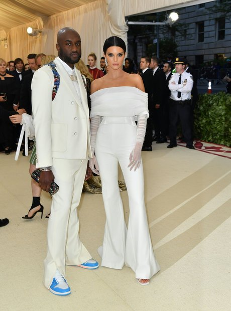 Virgil Abloh and Kendall Jenner Met Gala 2018