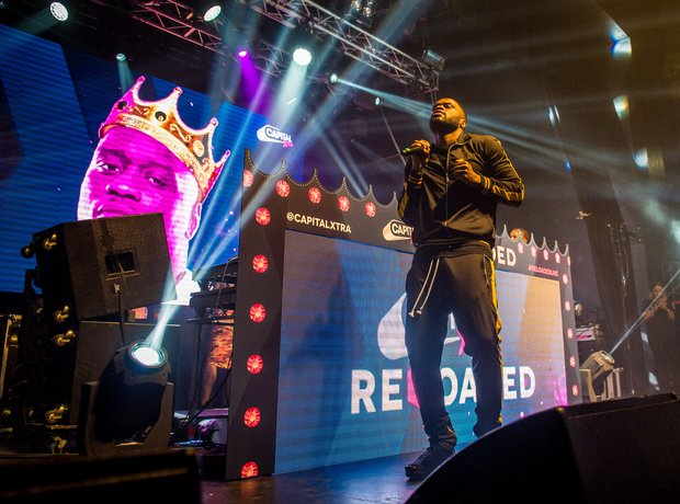 Lethal Bizzle at Reloaded Live