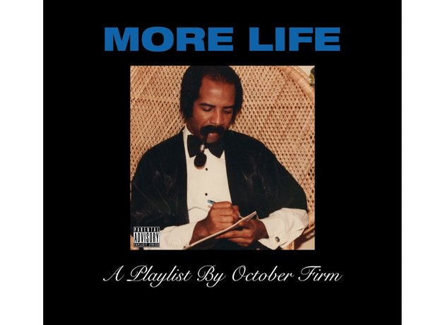 Drake More Life album cover
