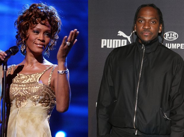 Whitney Houston and Pusha T