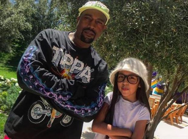 DJ Livia and Kanye West