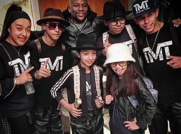 Monster Kids and Floyd Mayweather