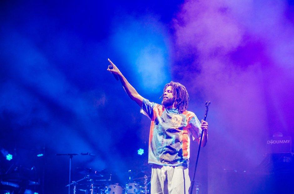 J Cole Wireless Festival 2018
