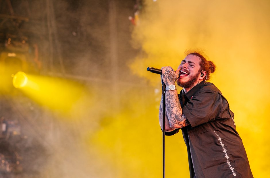 Post Malone Wireless Festival 2018