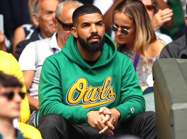 Drake at Wimbledon 2018