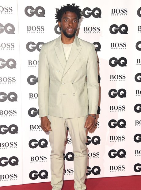 Chadwick Boseman at the GQ Awards 2018