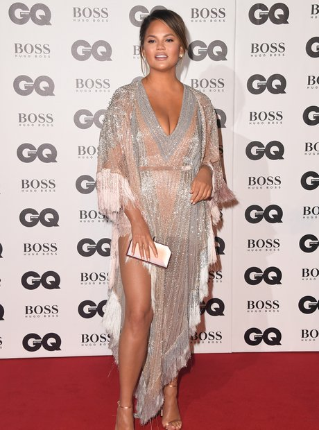 Chrissy Teigen at the GQ Awards 2018